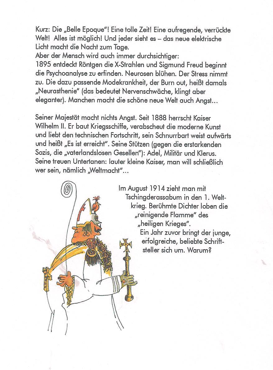 HHS Cartoon-Biografie | Hermann Harry Schmitz